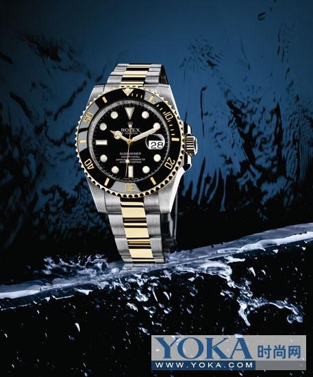 Reconnu modèle de montre de plongée: Rolex Oyster Perpetual Submariner type de calendrier