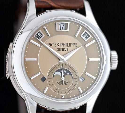 Meilleur patek philippe minute repeater perpetual calendar tourbillon replique montre
