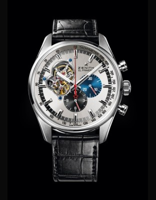 Zenith El Primero Stratos FlyBack Stricking 10th Tribute To Felix Baumgartner