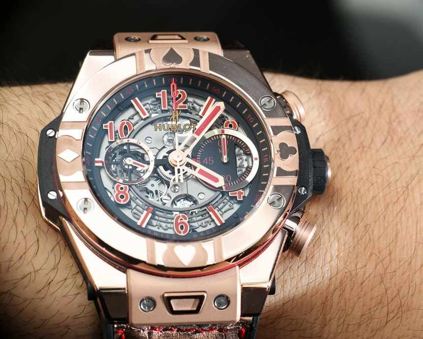 Hublot Big Bang Unico World Poker Tour Watch