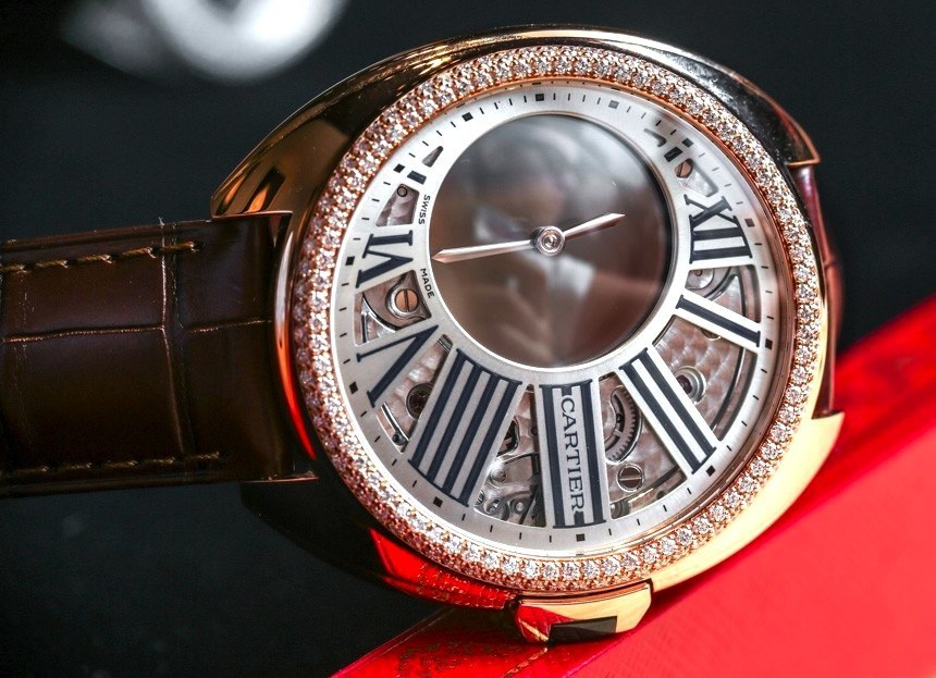 Cartier Clé De Cartier Mysterious Hour Watch
