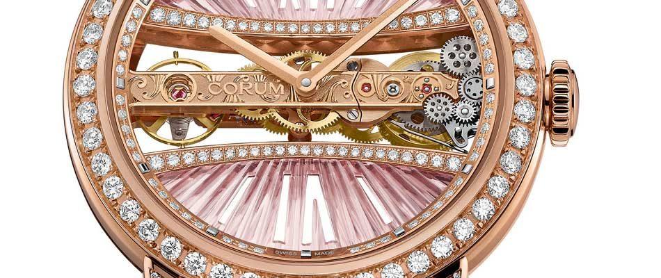 Corum Lady Golden Bridge : ronde et féminine !