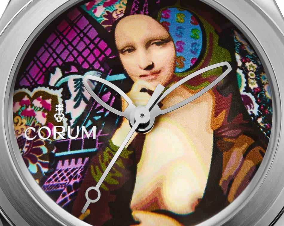 Corum Bubble by Elisabetta Fantone : 60 secondes sur la Joconde