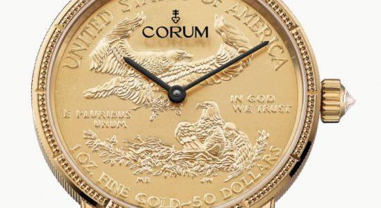Corum Coin gold