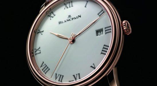 Blancpain Villeret 8 jours : toute en sobriété, toute en élégance