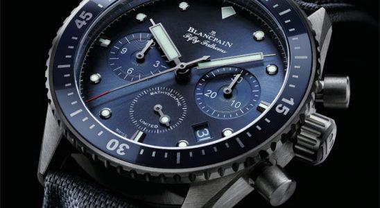 Blancpain Bathyscaphe Chronographe Flyback Ocean Commitment
