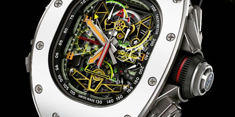 Richard Mille RM 50-02 ACJ Tourbillon chrono rattrapante