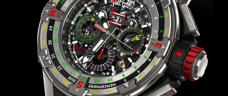 Richard Mille Chronographe Flyback RM 60-01 Régate : version 2016