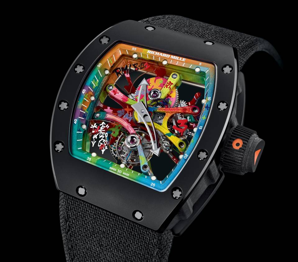 Richard Mille RM 68-01 Cyril Kongo : Colourful watch !
